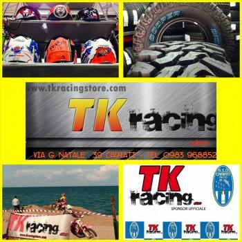 Tk Racing Store, Pneumatici, Caschi, Abbigliamento e AccessorI per 2 e 4 ruote